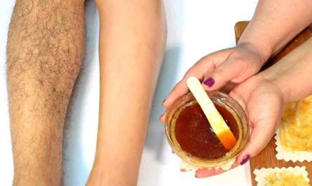 How To Make Homemade Wax Honey Lemon Sugar Eyebrow